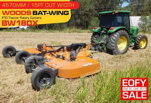 BW180X 15 foot Bat-Wing Heavy Duty slasher