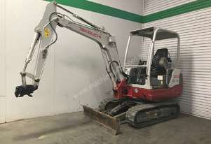 TAKEUCHI TB228 LOW HOUR 2.8T MINI EXCAVATOR S/N -0