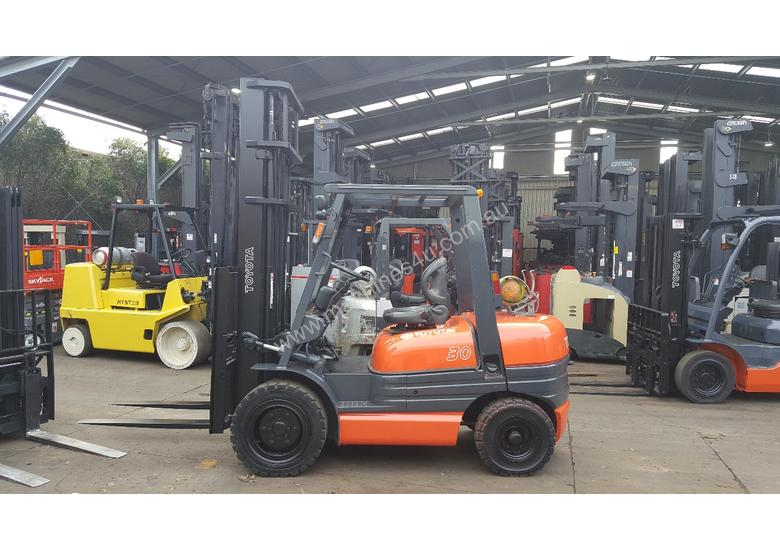Toyota Forklift 6FG30 4500mm Lift 3 Ton New Paint
