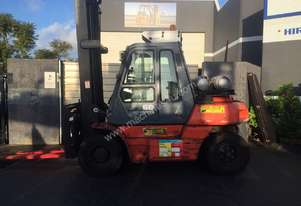Toyota 6 Tonne Forklift with Air Conditioned Cab
