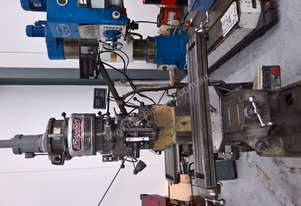 Bridgeport used turret milling machine
