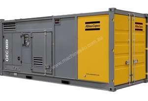Atlas Copco Prime Fixed Generator QEC 1250 Temporary Power Generator