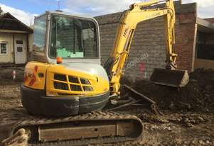 New Holland E55BX-5 a/c cabin excavator
