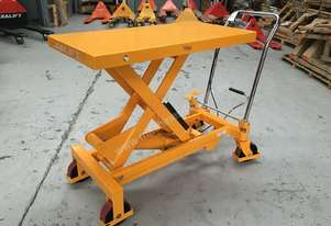 750kg Hydraulic scissor lift table/trolley