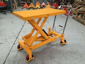 750kg Hydraulic scissor lift table/trolley - picture0' - Click to enlarge