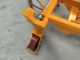 750kg Hydraulic scissor lift table/trolley - picture2' - Click to enlarge