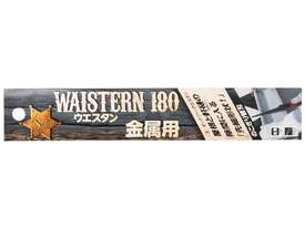 Japanese Waistern 180 Metal Pullsaw Blade Only - picture3' - Click to enlarge