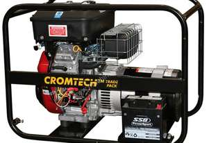 Cromtech Petrol 10kVA, powered by Briggs & Stratton