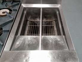 WALDORF Gas Double Pan Deep Fryer - picture0' - Click to enlarge