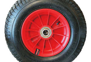 52109 - 400MM PLASTIC RIM PNEUMATIC WHEEL