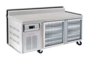 Semak BC1500-G6 2 Door 1500 Bar Chiller with Splashback