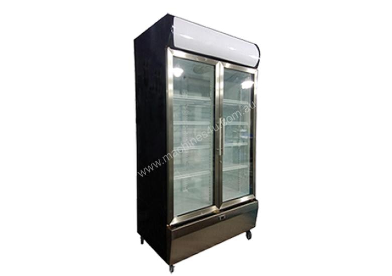 Exquisite SS1000P Upright Glass Chiller - 1000L volume