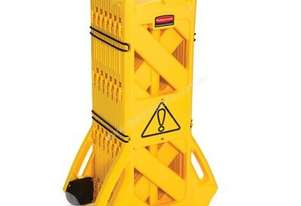 Rubbermaid RC-9S11 Mobile Safety Barrier