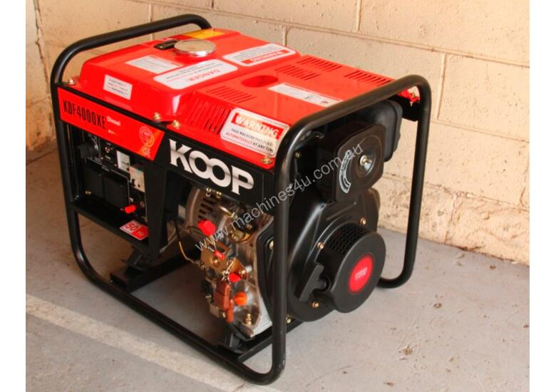 3.3KVA Diesel Generator single phase 240V Electric key start with Remote Control Start