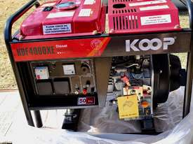 3.5KVA Diesel Generator single phase 240V Electric key start plus Remote - picture15' - Click to enlarge