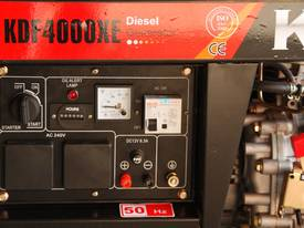 3.5KVA Diesel Generator single phase 240V Electric key start plus Remote - picture6' - Click to enlarge