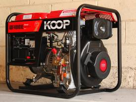 3.5KVA Diesel Generator single phase 240V Electric key start plus Remote - picture0' - Click to enlarge