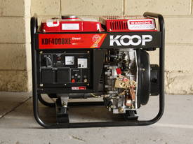 3.5KVA Diesel Generator single phase 240V Electric key start plus Remote - picture8' - Click to enlarge