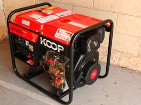 3.5KVA Diesel Generator single phase 240V Electric key start plus Remote - picture10' - Click to enlarge