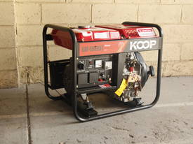 3.5KVA Diesel Generator single phase 240V Electric key start plus Remote - picture11' - Click to enlarge
