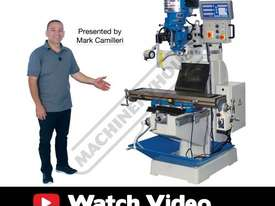 BM-22AD Turret Milling Machine (X) 590mm (Y) 295mm (Z) 380mm - picture2' - Click to enlarge