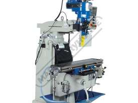 BM-22AD Turret Milling Machine (X) 590mm (Y) 295mm (Z) 380mm - picture3' - Click to enlarge