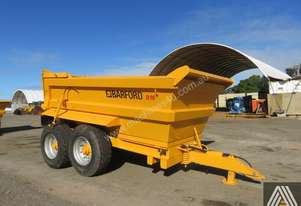 2017 BARFORD D16 16T TWIN AXLE DUMP TRAILER