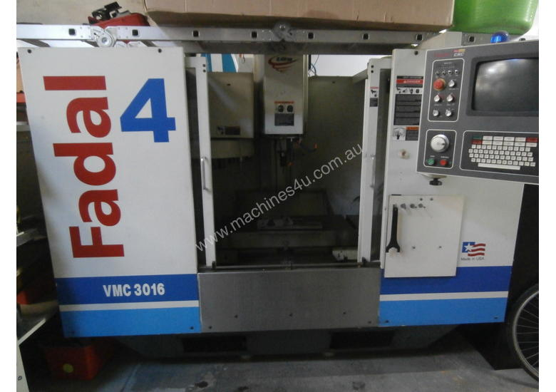 Cnc Mill For Sale >> Used 2000 Fadal 3016 Cnc Milling Machine In St Peters Nsw Price
