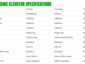 6 or 9 meter free standing elevator - picture2' - Click to enlarge