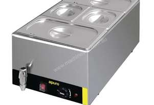 Apuro S047-A - Bain Marie with Tap & Pans