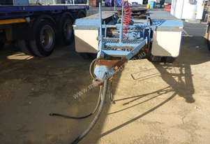 2004 SFM Triaxle Converter Dolly - In Auction