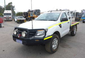 2012 Ford Ranger 4x4 Single Cab Tray Back Utility - In Auction