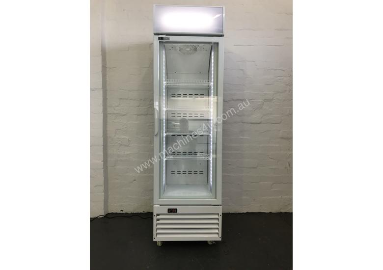 Commercial single Glass Door Upright Freezer