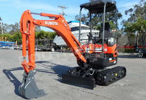 KUBOTA U17 1.7T Mini Excavator Unused MACHEXC