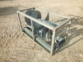Unused 1800mm Hydraulic Auger to suit Skidsteer Loader - 10419-36 - picture1' - Click to enlarge