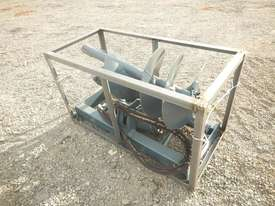 Unused 1800mm Hydraulic Auger to suit Skidsteer Loader - 10419-36 - picture3' - Click to enlarge