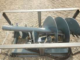 Unused 1800mm Hydraulic Auger to suit Skidsteer Loader - 10419-36 - picture4' - Click to enlarge