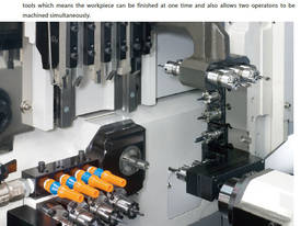 SD & SW Series Swiss Type Lathes - picture4' - Click to enlarge