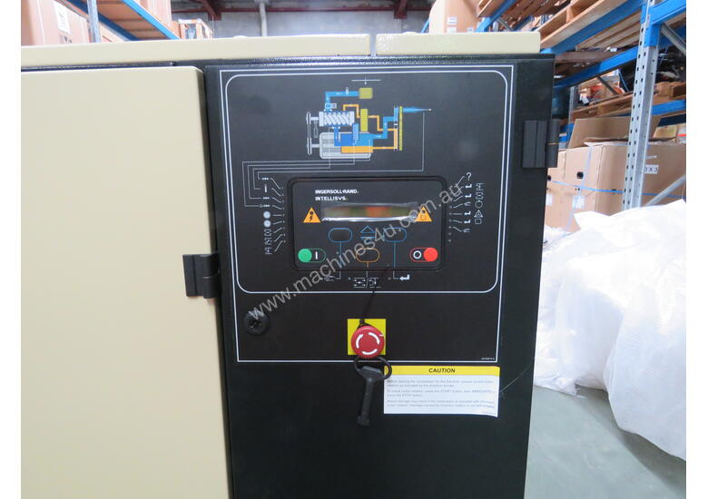 Ingersoll Rand Air Compressor & Dryer: UP5E-18TAS-8