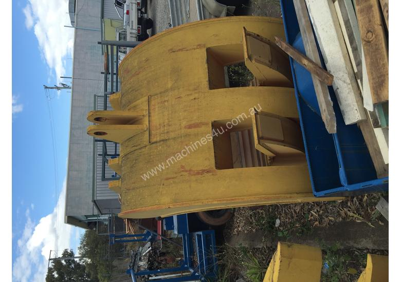 Excavator Grab 65 Tonne Five (5) Finger