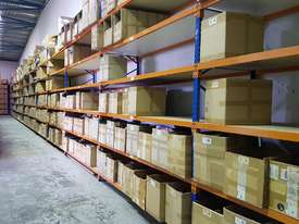 Used 3.6m High Long Span Racking Shelving With Boards 3600 x 900 - picture3' - Click to enlarge