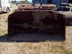 Custom 2450mm batter bucket ex IHC Hough loader Bucket-GP Attachments - picture1' - Click to enlarge