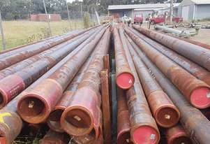 STEEL PIPE 175mm outer diameter x 12mm wall thickness x 9550mm long
