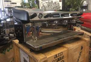 EXPOBAR MEGACREM 3 GROUP STAINLESS STEEL ESPRESSO COFFEE MACHINE