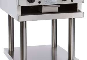 600mm Teppanyaki Grill with legs & shelf