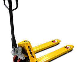 Euro Narrow Hand Pallet Jack/Truck 540mm Wide (Poly Wheel) - picture0' - Click to enlarge