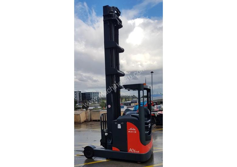 Used Forklift:  R20S Genuine Preowned Linde 2t