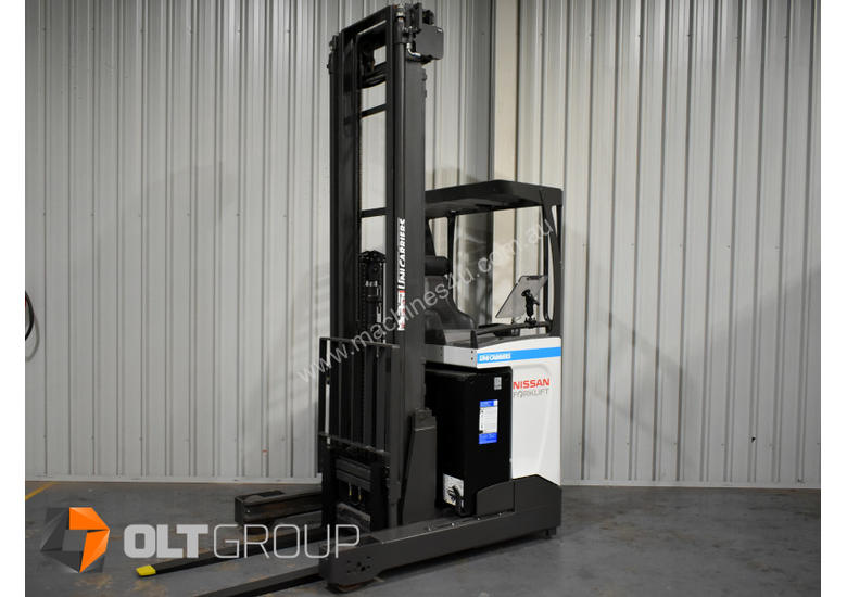Unicarriers High Lift Forklift 7950mm Ride Reach Truck Electric 1 6 on