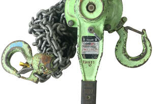 Loadset Chain Hoist Lift Block and tackle 1.5 Tonne x 3 metre chain