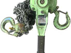 Loadset Chain Hoist Lift Block and tackle 1.5 Tonne x 3 metre chain - picture0' - Click to enlarge